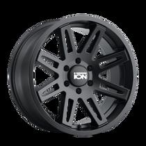 ION 142 Matte Black 18x9 6x135 0mm 87.1mm