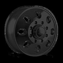 ION 167 Matte Black - Front 17x6.5 8x210 125.3mm 154.2mm