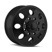 ION 167 Matte Black - Front 17x6.5 8x210 125.3mm 154.2mm