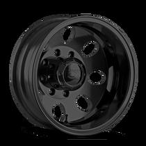 ION 167 Matte Black - Rear 17x6.5 8x165.1 -142mm 130.18mm