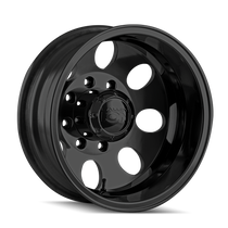 ION 167 Matte Black - Rear 17x6.5 8x210 -142mm 154.2mm