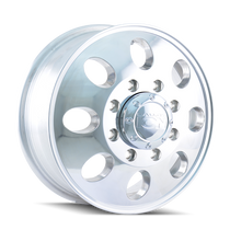 ION 167 Polished - Front 17x6.5 8x210 125.3mm 154.2mm