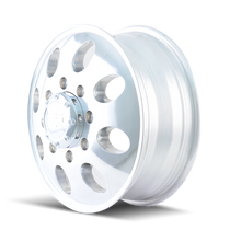 ION 167 Polished - Front 17x6.5 8x165.1 125.3mm 130.18mm- wheel side view