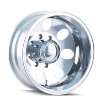 ION 167 Polished - Rear 17x6.5 8x165.1 -142mm 130.18mm