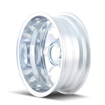 ION 167 Polished - Rear 17x6.5 8x165.1 -142mm 130.18mm - wheel side view