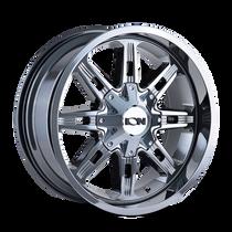 ION 184 PVD2 Chrome 17x9 8x165.1/8x170 18mm 130.8mm