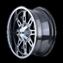 ION 184 PVD2 Chrome 20x9 5x139.7/5x150 0mm 110mm - wheel side view