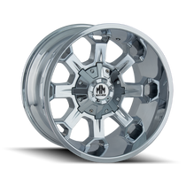 Mayhem Combat 8105 Chrome 20x9 8x165.1/8x170 0mm 130.8mm