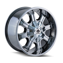 Mayhem Beast 8102 Chrome 20x9 6x135/6x139.7 18mm 106mm