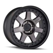 Mayhem Prodigy 8300 Matte Black w/ Dark Tint 17x9 5-127 -6mm 78.1mm