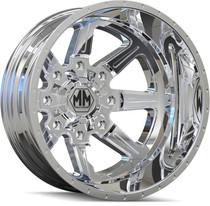Mayhem 8101 Monstir Rear Chrome 17x6.5 8x165.1 -140mm 130.18mm