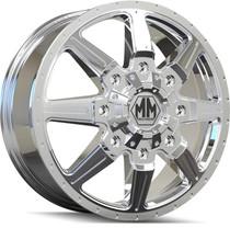 Mayhem 8101 Monstir Front Chrome 17x6.5 8x165.1 134mm 130.18mm