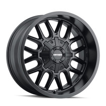 Mayhem Cogent Matte Black 17x9 8x165.1/8x170 -12mm 130.8mm