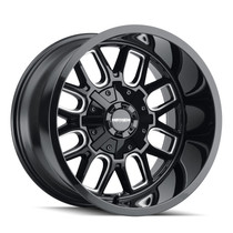 Mayhem Cogent Gloss Black/Milled Spokes 20x10 8x165.1/8x170 -19mm 130.8mm