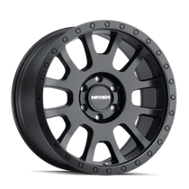 Mayhem Scout Matte Black 17x8.5 5x127 0mm 87.1mm