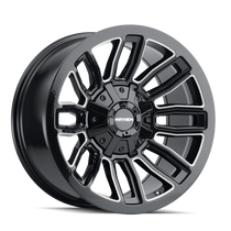Mayhem Decoy Gloss Black w/ Milled Spokes 20x9 8x180 18mm 124.1mm