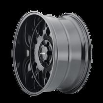 Mayhem Tripwire Gloss Black w/ Milled Spokes 20x9 8x170 18mm 130.8mm - wheel side view