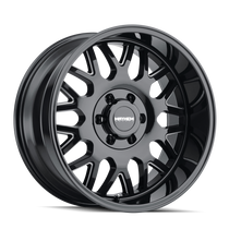 Mayhem Tripwire Gloss Black w/ Milled Spokes 20x9 5x139.7 0mm 87.1mm
