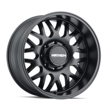 Mayhem Tripwire Matte Black 20x9 8x165.1 18mm 130.8mm