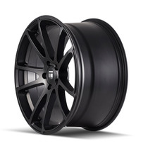 Touren TF03 Matte Black 17x7.5 5-100 40mm 56.1mm - wheel side view
