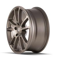 Touren TF03 Matte Bronze 18x8 5x100 40mm 56.1mm - wheel side view