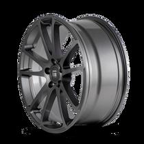 Touren TF03 Graphite 17x7.5 5x114.3 40mm 67.1mm - wheel side view