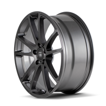 Touren TF03 Graphite 20x8.5 5x114.3 38mm 72.6mm - wheel side view