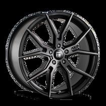 Touren TF01 Brushed Matte Black w/ Dark Tint 17x7.5 5x114.3 40mm 72.6mm