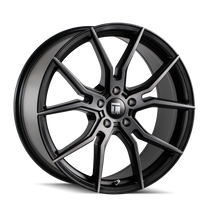 Touren TF01 Brushed Matte Black w/ Dark Tint 20x9 5x114.3 35mm 72.62mm