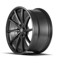 Touren TF02 Black 20x9 5x114.3 35mm 72.6mm - wheel side view