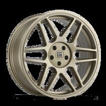 Touren TR74 Matte Gold 17x8 5x112/5x120 40mm 74.1mm