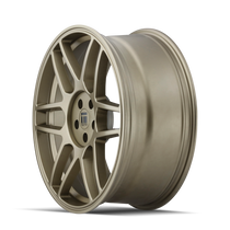 Touren TR74 Matte Gold 17x8 5x108/5x114.3 40mm 72.56mm - wheel side view