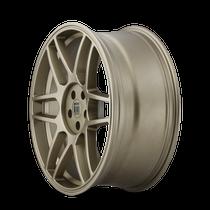 Touren TR74 Matte Gold 18x8 5x108/5x114.3 40mm 72.56mm - wheel side view