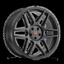 Touren TR74 Matte Black 17x8 5x112/5x120 40mm 74.1mm