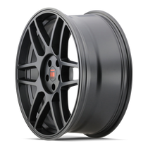 Touren TR74 Matte Black 18x8 5x112/5x120 40mm 74.1mm - wheel side view