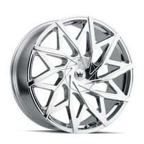 Mazzi 372 Big Easy Chrome 22x9.5 5x127/5x139.7 18mm 87mm