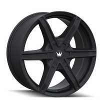 Mazzi 371 Stilts Matte Black 24x9.5 6x135/6x139.7 30mm 106mm