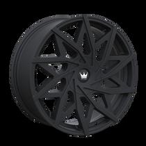 Mazzi 372 Matte Black 20x8.5 5x108/5x114.3 35mm 72.6mm