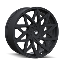 Mazzi 372 Matte Black 20x8.5 5x108/5x114.3 35mm 72.6mm