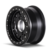 Dirty Life Roadkill Matte Black Beadlock 14x7 4x156 13mm 115.1mm - wheel side view