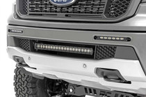 Ford Dual 6IN LED Bumper Kit (2019-2020 Ranger) - mounted view