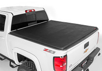 "(09-18 Dodge Ram 1500 / 09-20 Ram 2500/3500) 6' 4"" Bed Soft Tri-Fold Bed Cover"