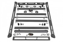 Jeep Roof Rack System (2018-2020 Wrangler JL) with lighting upgrade