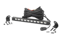 10-inch Slimline Cree LED Light Bar Black Series - full kit