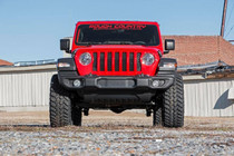 2.5in Jeep Suspension Lift Kit (2018-2020 Wrangler JL 2-Door) - displayed on vehicle front view