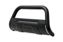 Toyota Tundra (07-20) Bull Bar w/ LED Light Bar- Black w/ LED Light