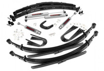 4IN GM Suspension Lift System (88-91 3/4 Ton Suburban 4WD w/ 52 IN Rear Springs)