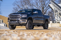 Dodge Ram 1500 (09-18)Bull Bar w/ LED Light Bar- Black on Dodge Ram