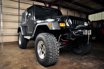 Jeep 6.5in Fender Flares (97-06 Jeep Wrangler TJ) - displayed on a vehicle