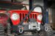 (87-06 Wrangler TJ/YJ) Jeep Stinger Bar - mounted on a vehicle